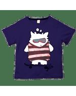 Camiseta-Amigo-Cinza-Infantil-Green